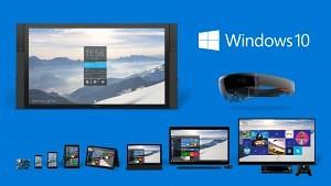 Windows 10 termékcsalád kép