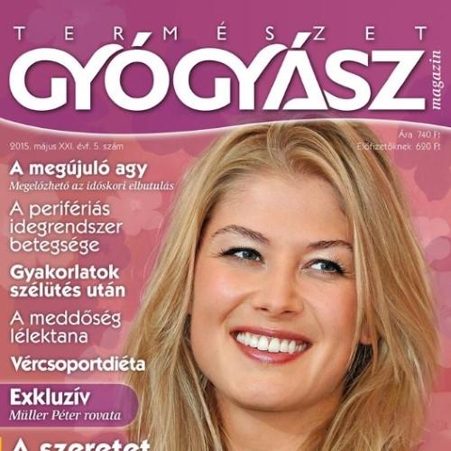 Természetgyógyász Magazin referencia kép
